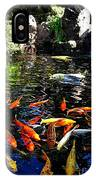 Disney Epcot Japanese Koi Pond IPhone Case
