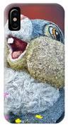 Disney Floral 05 Thumper Blue IPhone Case