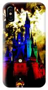 Disney Night Fireworks IPhone Case