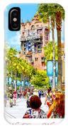Disney Studios Walt Disney World Orlando Florida IPhone Case