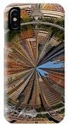 Distorted Lower Manhattan IPhone Case