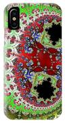 Distorted Multibrot Twins IPhone Case