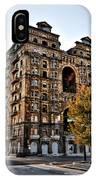 Divine Lorraine Hotel In Philadelphia IPhone Case