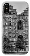 Divine Lorraine In Pain - Black And White IPhone Case