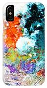 Djinn Blows ... Dove Floating In The Wind IPhone Case