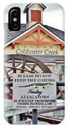 Do Not Feed The Gators IPhone Case