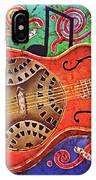 Dobro-slide Guitar-2 IPhone Case