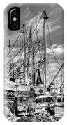 Docked Shrimper IPhone Case