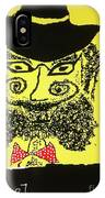 Doctor Goldfish - Krakauer. Judaica . Shabbat Shalom. - King Without A Crown.  Featured 6 Times IPhone Case