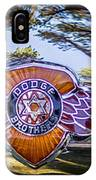 Dodge Brothers IPhone Case