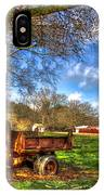 Dodge Dump Truck Farm Barn Scene IPhone Case