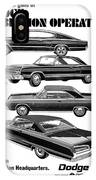 Dodge Rebellion '67 IPhone Case