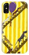 Dogs Going Up Stairs IPhone Case