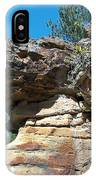 Dog's Head Rock Formation IPhone Case