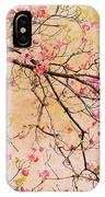 Dogwood  Canvas IPhone Case