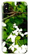 Dogwood In The Wind IPhone Case