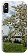 Dogwoods In Summer IPhone Case