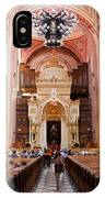 Dohany Street Synagogue In Budapest IPhone Case
