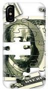 Dollar Puzzle-2 IPhone Case