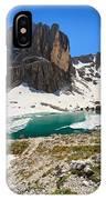 Dolomites - Pisciadu' Peak IPhone Case