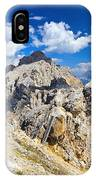 Dolomiti - Costabella Mount IPhone Case