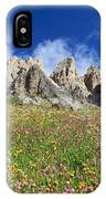 Dolomiti - Flowered Meadow  IPhone Case