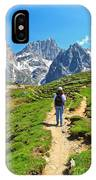 Dolomiti - Hiking In Contrin Valley IPhone Case