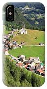 Dolomiti - Laste Village IPhone Case