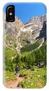 Dolomiti -landscape In Contrin Valley IPhone Case