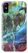 Dolphin Dives IPhone Case