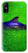 Dolphin In The Shallows IPhone Case