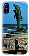 Dolphin Statue IPhone Case