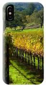 Domaine Chandon Vineyard IPhone Case