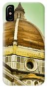 Dome Of Florence IPhone Case