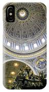 Dome Of St. Peter's Basilica IPhone Case
