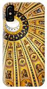 Dome Of St Peter's Basilica Vatican City Italy IPhone Case