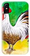 Domestic Cock IPhone Case