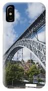 Don Luis Bridge In Oporto IPhone Case