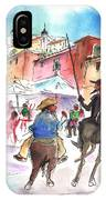 Don Quijote And Sancho Panza Entering Toledo IPhone Case