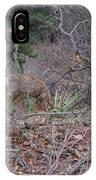Donkey Deer Feeding IPhone Case