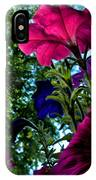 Donna's Blooming Petunias IPhone Case