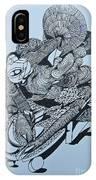 Doodle - 02 IPhone Case