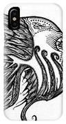 Doodle Eye. IPhone Case