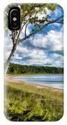 Door County Europe Bay Birch IPhone Case