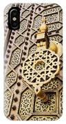 Doors Of The Hassan Mosque In Rabat IPhone Case