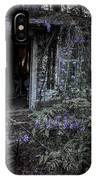 Doorway And Flowers IPhone Case