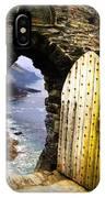 Doorway To The Sea IPhone Case