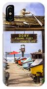 Dory Fishing Fleet Market Newport Beach California IPhone Case