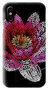 Dots Of Flowers IPhone Case