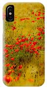 Dots Of Red IPhone Case